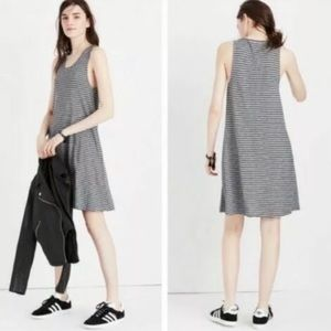 Madewell Highpoint Striped Tank Swing Dress